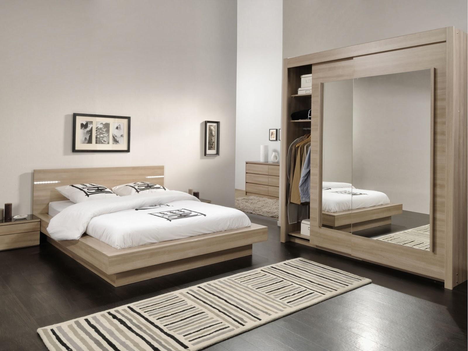 Idee Decoration Chambre Adulte | Beautiful Papier Peint Chambre ...