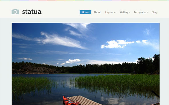 Statua Wordpress Theme Free Download by WooThemes.
