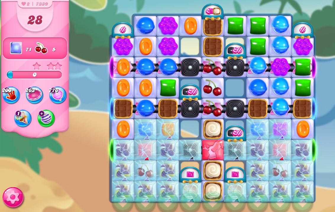 Candy Crush Saga level 7339