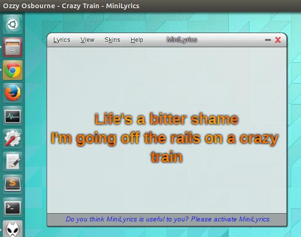 download minilyrics