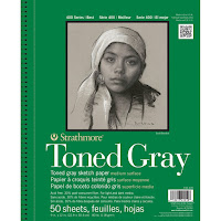 Strathmore Toned Gray papers ( 50 sheets )