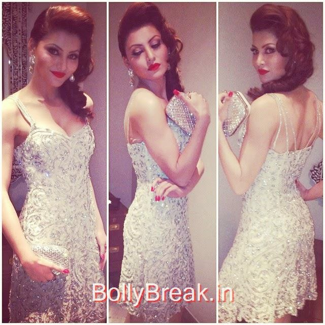 all set for hello , ! hallo ff ame , hello awards , 2014 ,. last night wearing one of the starry & timeless pieces of rockstar none other than rockys tar , .