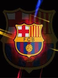 Animasi Bergerak GIF Logo Klub Fc Barcelona