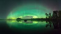 Zorza polarna w noc z 7 na 8 października. Finlandia. Credit: Matti Helin