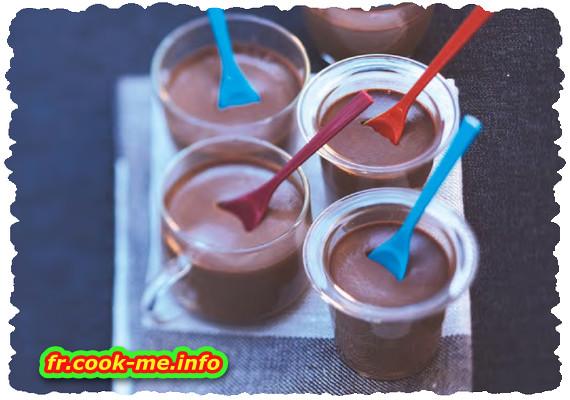 Petit pot de crème chocolat-cannelle