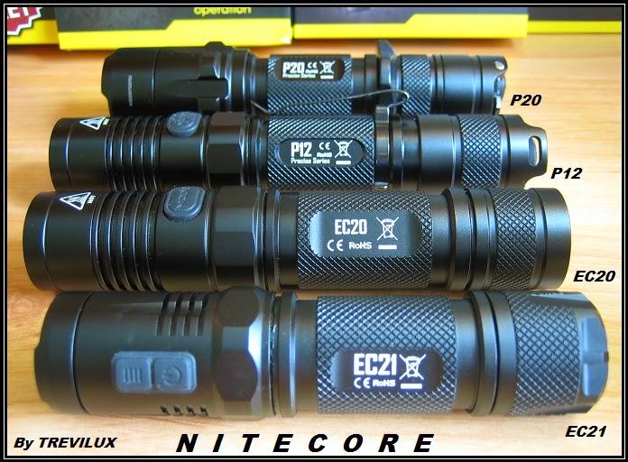 Nitecore EC21, EC20, P12, P20  luxlinternas@blogspot.com.es