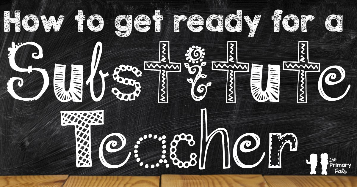 Each time a new substitute walks into your classroom, it's likely they have some anxiety about how the day is going to work out. Most people feel more at ease when they know what is happening, when it will happen, and how to make it happen. That doesn't mean you can leave out your weekly lesson plans and a daily schedule and assume your sub can figure it out from there. Help your substitutes by giving them as much essential information as you can. Check out the list here!