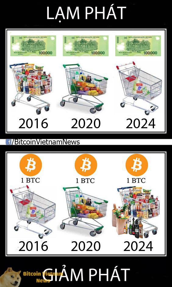 Hai nguyên tắc chính khi đầu tư Bitcoin