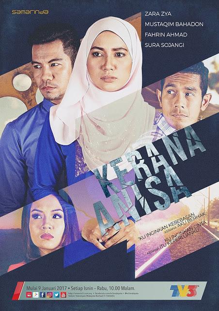 Tonton Online Kerana Anisa Episod 1 - Episod 3 Samarinda TV3