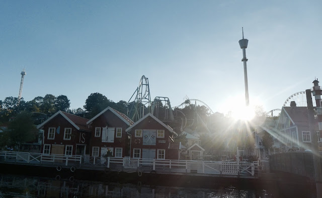 Photo of Sunset at Liseberg