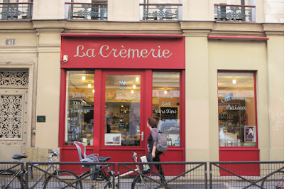 A cheese boutique in the 10th arrondissement, Paris