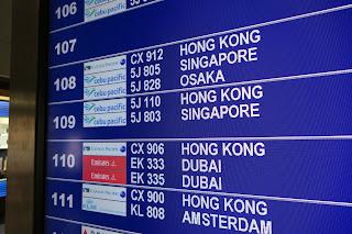 Cathay Pacific Flight Review: Manila to Hong Kong