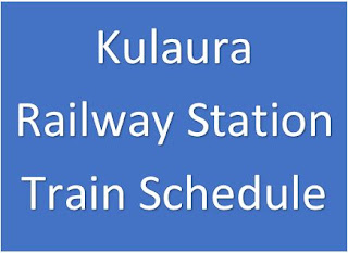 Kulaura railway station train schedule