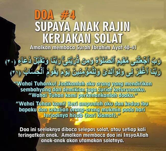 Agar Buah Hati Berakhlak Mulia Bacakan 7 Doa Mustajab Ini Wajib Baca