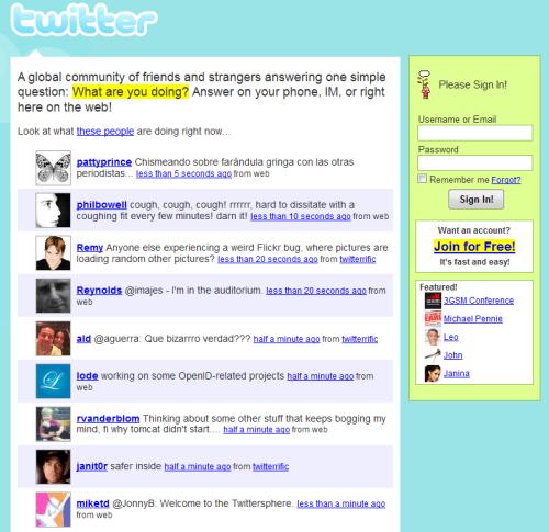 Twitter Old Design