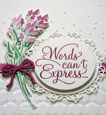 Heart's Delight Cards, Dear Doily, Stampin' Up!