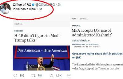 india-has-a-weal-pm-says-rahul-gandhi