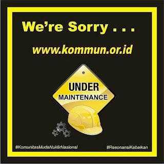 Perbaikan Website KOMMUN