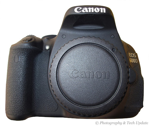 Canon 600D rebel t3i review body front