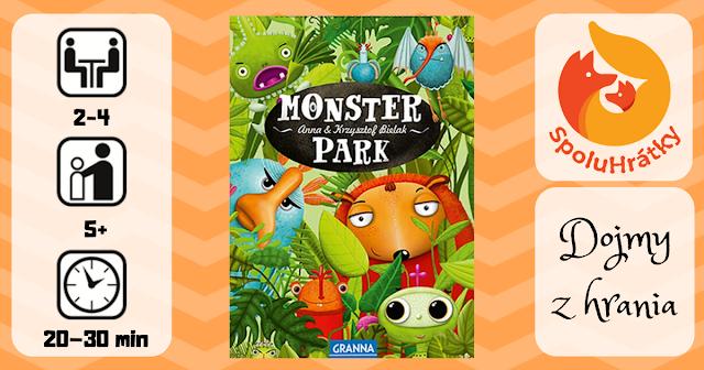 recenzia hry Monster Park na blogu www.spoluhratky.eu