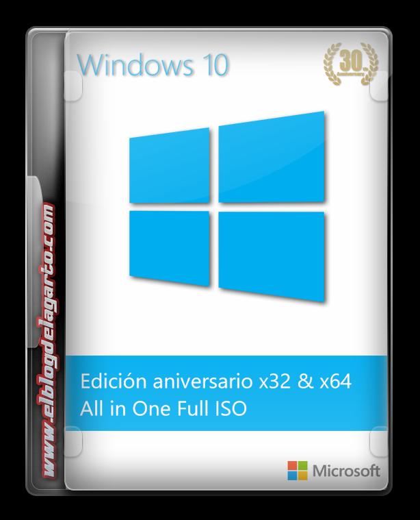 Windows 10 AIO 1607 Español México