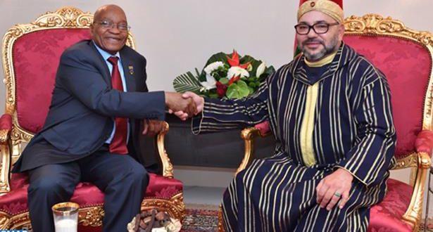 """الجهوية24 - هكذا ردت """"البوليساريو"""" على لقاء الملك محمد السادس بالرئيس """"زوما"""""""