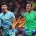 Batalla en la portería del Real Madrid