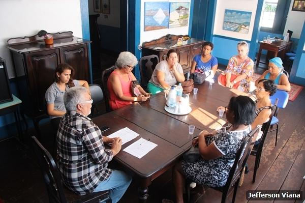 Artesãos aldeenses se reúnem com subsecretário de turismo para debater melhorias
