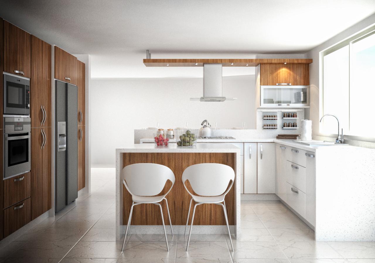 subir foto de cocina y diseño Roman Molina Diseo 3D