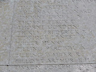 Ernest Tidridge on Southampton Cenotaph