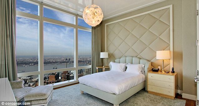 Luxury A Jacuzzi Bath Is Just One Of The High End Features Property Located On 75th Floor Time Warner Centre