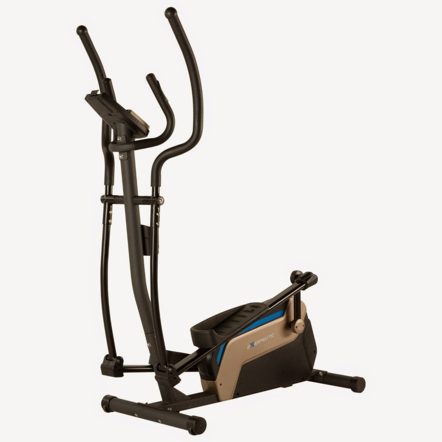 Exerpeutic 4000 Magnetic Elliptical Trainer with Double Transmission Drive, features reviewed & compared with Exerpeutic 5000