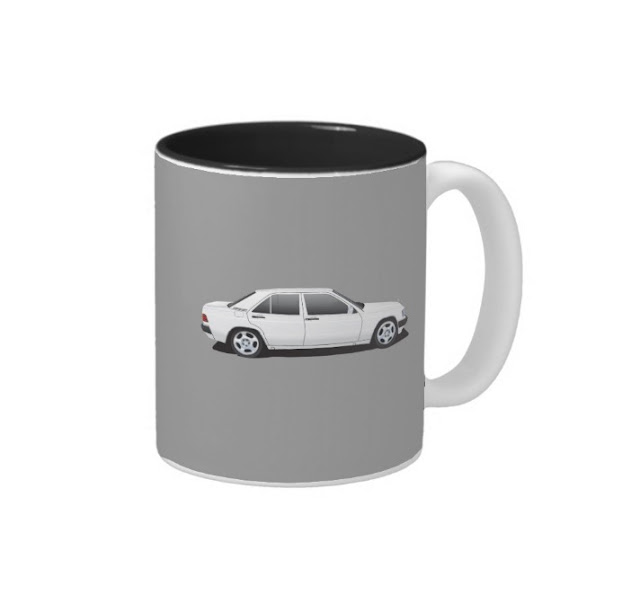 Mercedes-Benz W201 190E mugs