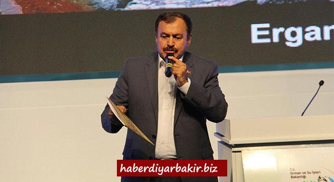 Bakan Veysel Eroğlu Diyarbakır'da 5 tesisin temelini attı