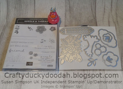 Craftyduckydoodah!, Needle & Thread, Needlepoint Elements Framelits, SBTD Blog Hop December 2018, Stampin' Up! UK Independent  Demonstrator Susan Simpson, Supplies available 24/7 from my online store,