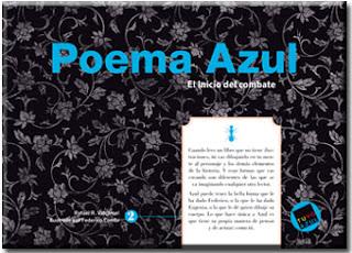 """""""Poema Azul El inicio del combate palabras aladas rafael r valcárcel lo que leo"""""""