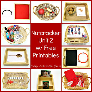Nutcracker activities and printables