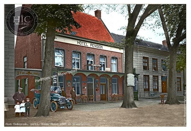Ingekleurde foto Sint Oedenrode (Gemeen Meierijstad)