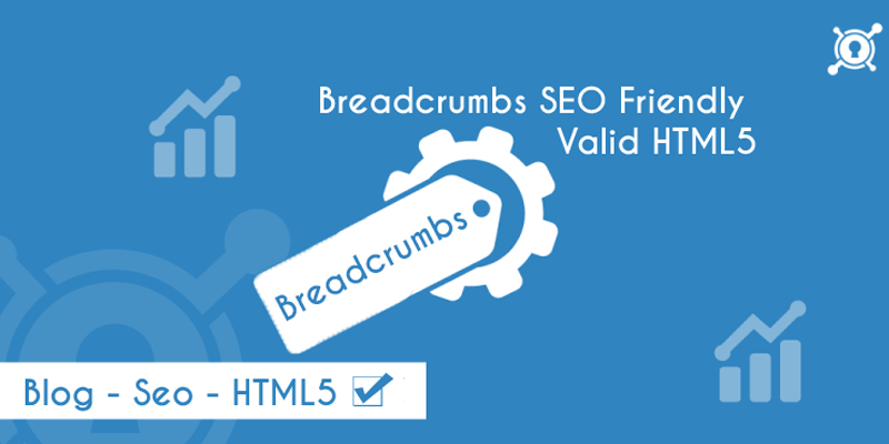 Breadcrumbs SEO Friendly Valid HTML5 Blogger