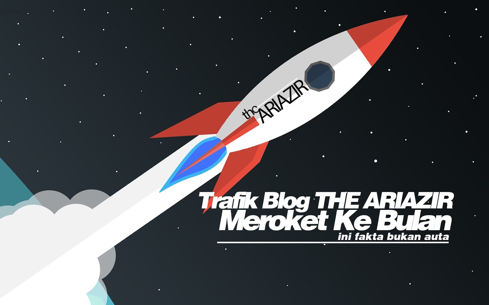 "Trafik Blog ""THE ARIAZIR"" Meroket Ke Bulan"