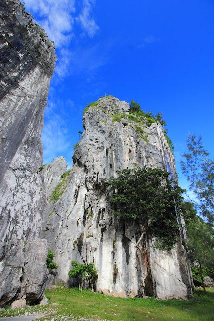 Bukit terpotong Fatu Nausus