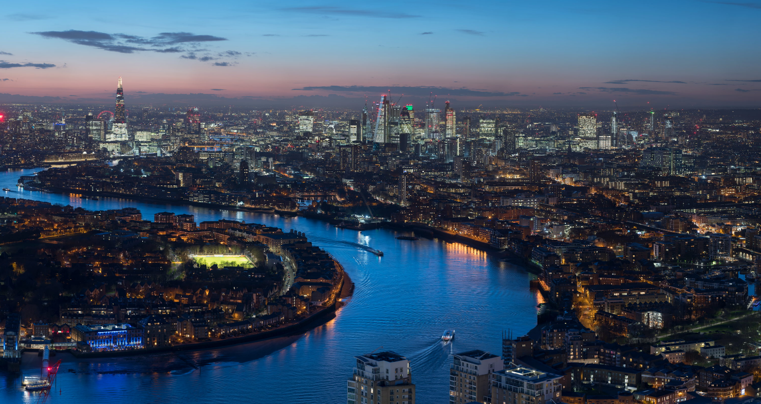 Ein Tag London im Gigapixel-Zeitraffer | From dawn till dusk, and beyond