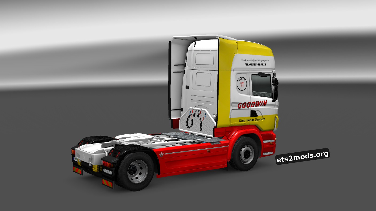 Goodwin Distribution UK Scania RJL Skin