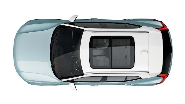 2019 Volvo XC40 Top view image