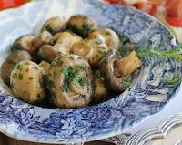 Cogumelos Salteados em Azeite e Ervas (vegana)