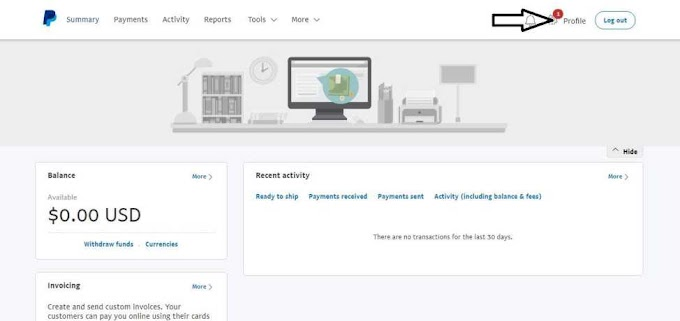 Steps On How To Create A PayPal Account That Can Send And Receive Payment In Nigeria