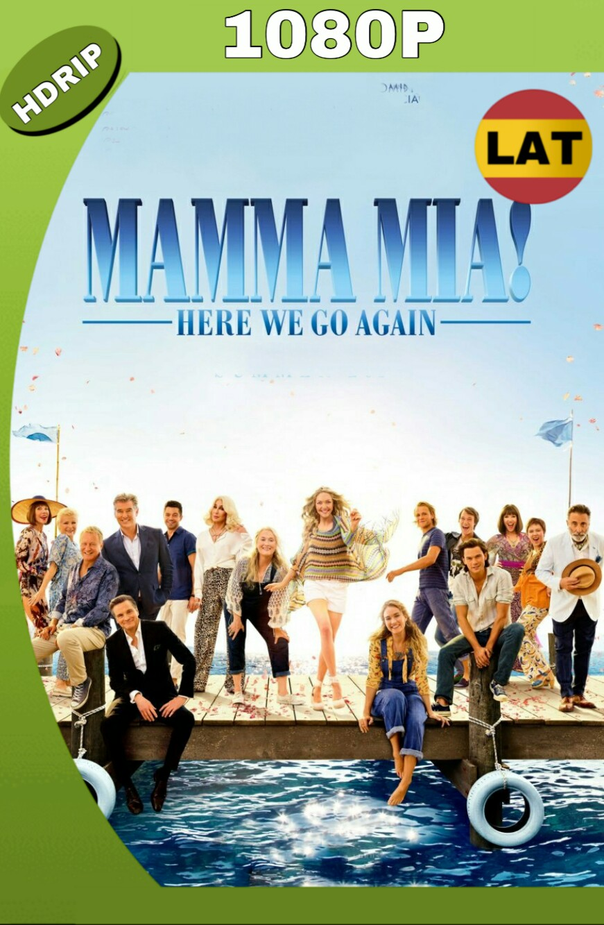 MAMMA MIA: UNA Y OTRA VEZ (2018) HD 1080P LATINO MP4