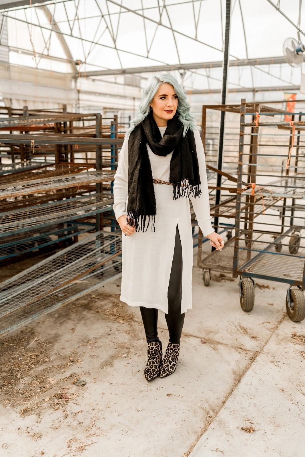 Black Scarf, Utah Blogger, SeneGence Distributor