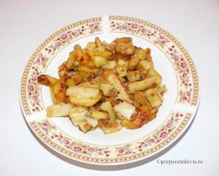 Cartofi prajiti cu ceapa retete culinare,