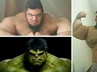 Bukan Hanya di Film, Ternyata Hulk di Dunia Nyatapun Ada